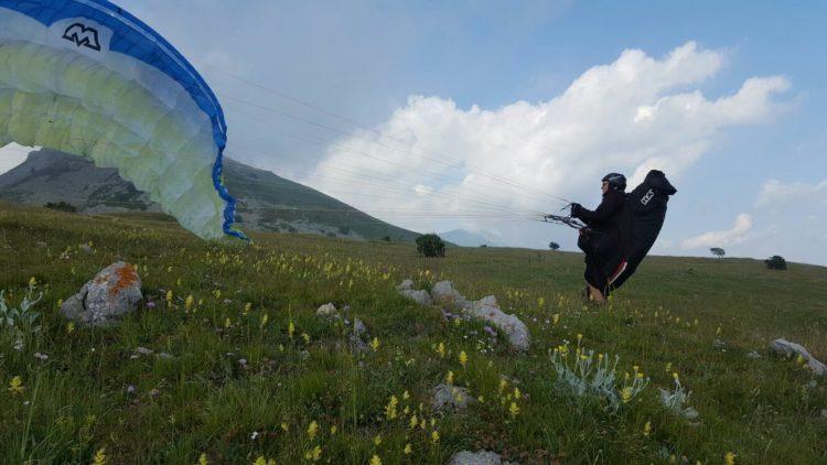 parapendio paragliding